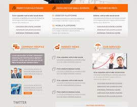nº 3 pour Redesign Front Page of Zervant Website par tania06