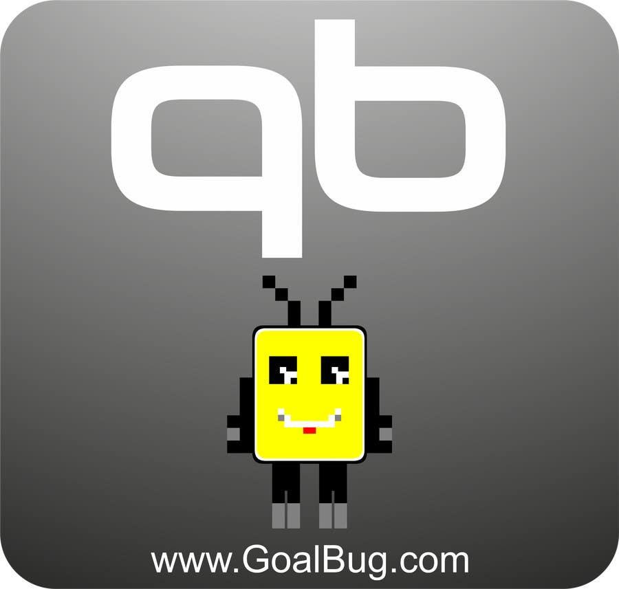 """Kilpailutyö #96 kilpailussa Design a Logo for """"Goal Bug"""""""