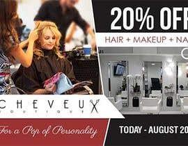 zinebzeno tarafından Improve a Flyer Design for a Beauty Salon için no 15