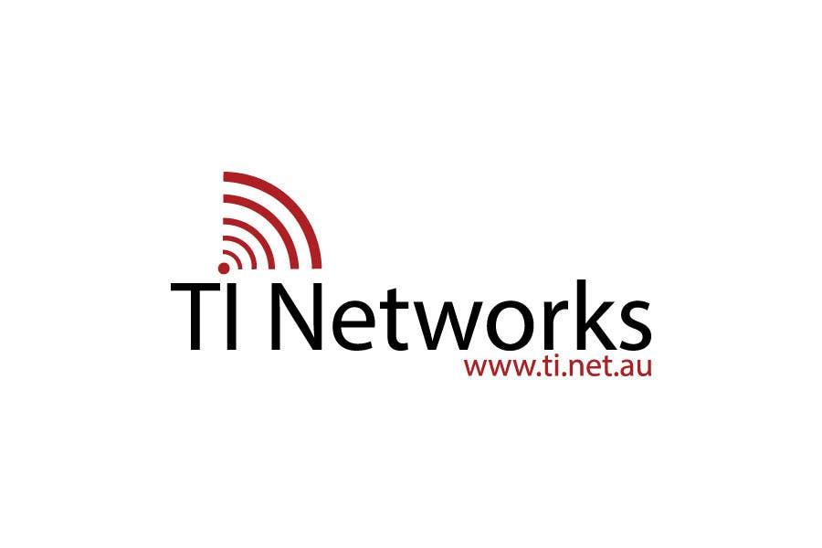 Bài tham dự cuộc thi #                                        124                                      cho                                         Design a Logo for TI Networks (www.ti.net.au)
