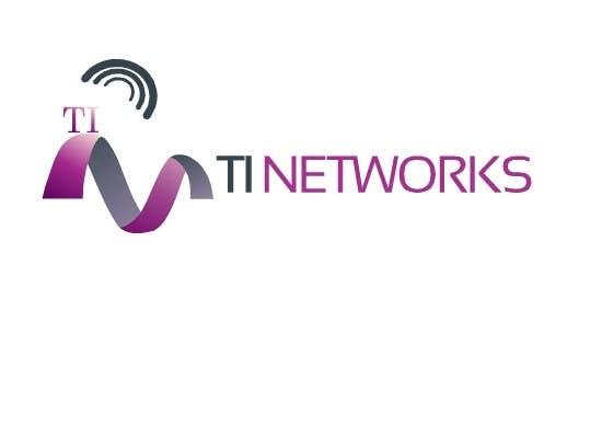 Bài tham dự cuộc thi #                                        142                                      cho                                         Design a Logo for TI Networks (www.ti.net.au)