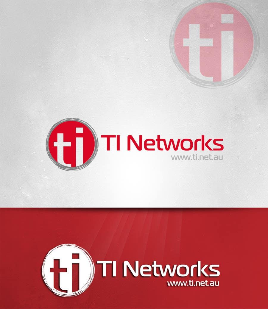 Bài tham dự cuộc thi #                                        129                                      cho                                         Design a Logo for TI Networks (www.ti.net.au)