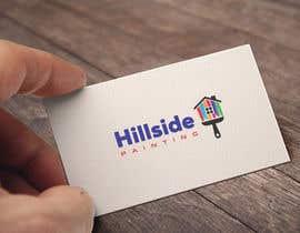 Nro 100 kilpailuun Design a Logo for Hillside Painting käyttäjältä blueeyes00099