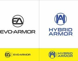 edso0007 tarafından EVO-ARMOR / HYBRID ARMOR text logo için no 42