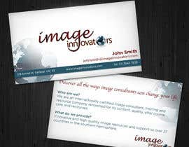 nº 68 pour Business Card Design for Image Innovators par jennfeaster