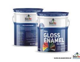 Nro 6 kilpailuun design two printable labels for paint tins -- 2 käyttäjältä SeanKilian