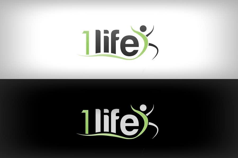 Contest Entry #                                        42                                      for                                         Logo Design for 1 Life