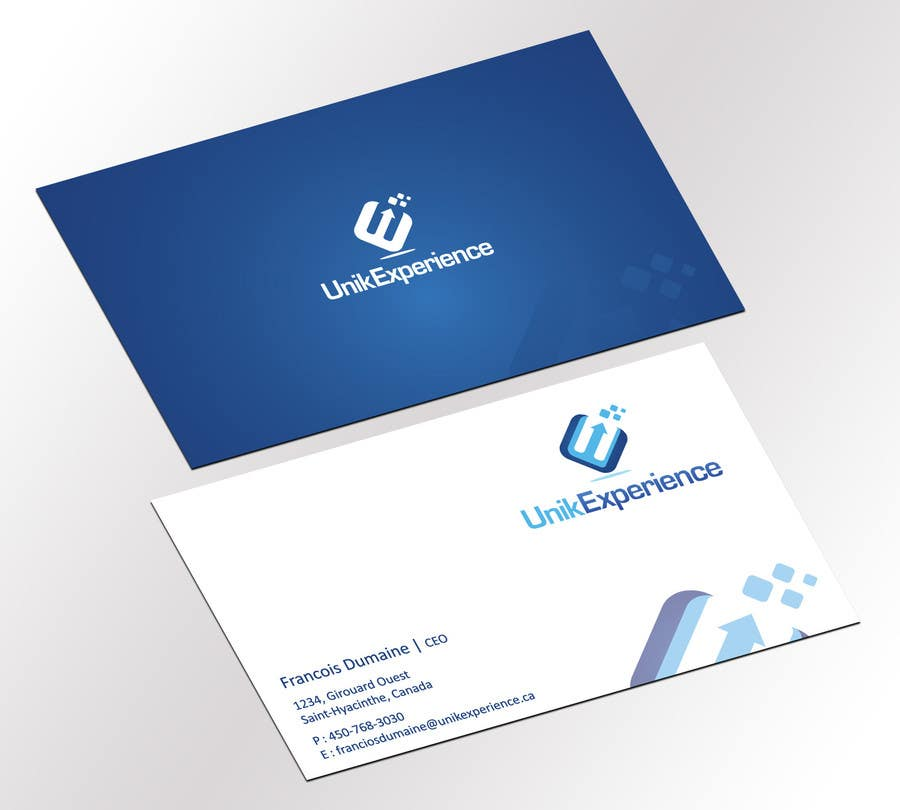 #2 for Design Business Cards for Unik Experience by jobee