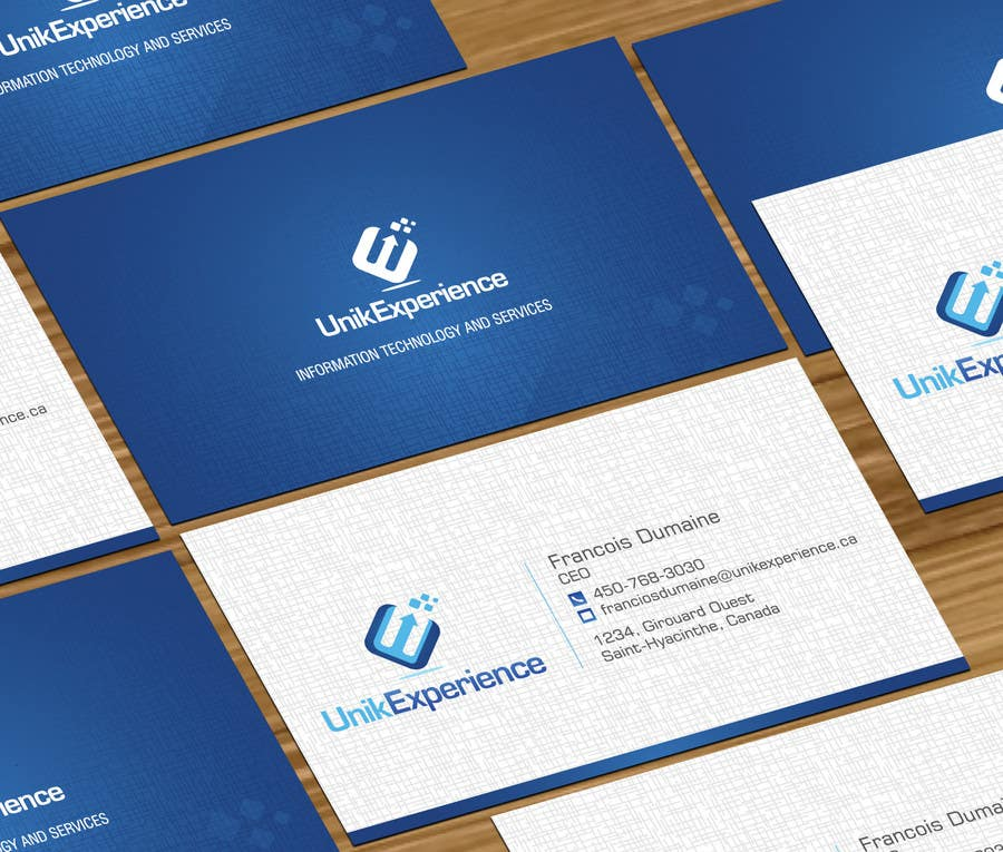 #14 for Design Business Cards for Unik Experience by jobee