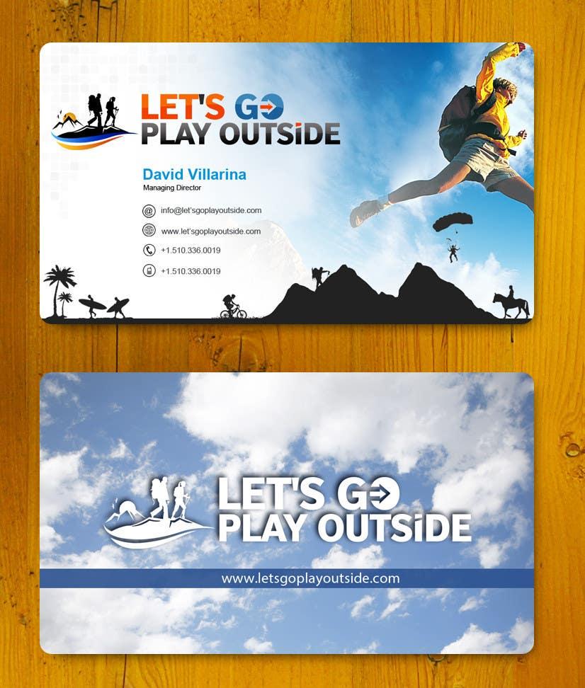 Inscrição nº 21 do Concurso para Design Business Cards... for Let's Go Play Outside