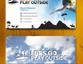 #21 para Design Business Cards... for Let's Go Play Outside por theDesignerz