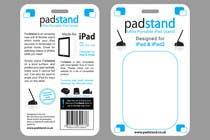Graphic Design Inscrição do Concurso Nº61 para Print & Packaging Design for PadStand