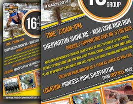 nº 21 pour Design a Flyer/Poster for Mad Cow Mud Run par Artimization