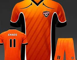 BRIGHT8 tarafından Design full color dye sublimation soccer jersey & shorts için no 11