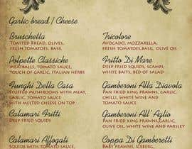 #8 para Menu for Italian Restaurant por stniavla