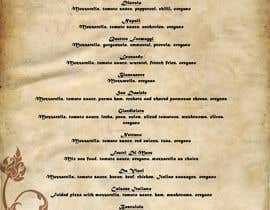 #7 para Menu for Italian Restaurant por lorna090