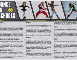 #27 para Design a Brochure for a Dance in Schools Programme por catalins