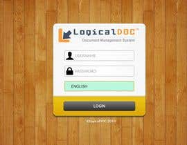 #45 para I need some Graphic Design for Login web-page por andankz