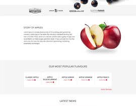 chandradip123 tarafından Build a Website for a fruit juice company için no 4