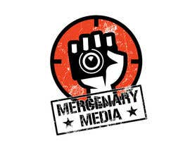 #152 untuk Logo Cartoon Design for Mercenary Media oleh benpics