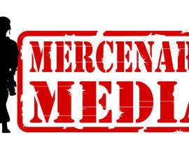 #63 pentru Logo Cartoon Design for Mercenary Media de către Graphixking