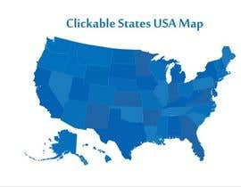 #2 for Design in Flash for Clickable States USA Map by triplea9