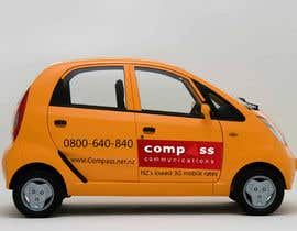#44 for Car Ad Mock-up af jonydep