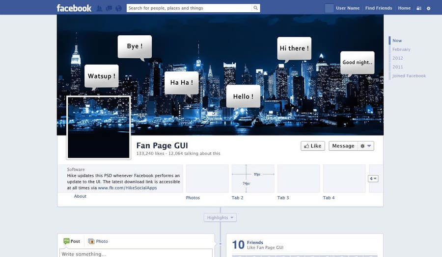 #9 for Design a Facebook landing page & google cover page by ahmedzaghloul89