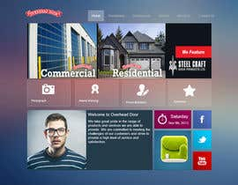 #8 cho Design a Website Mockup for www.overheaddoorgp.com bởi yeshkutty