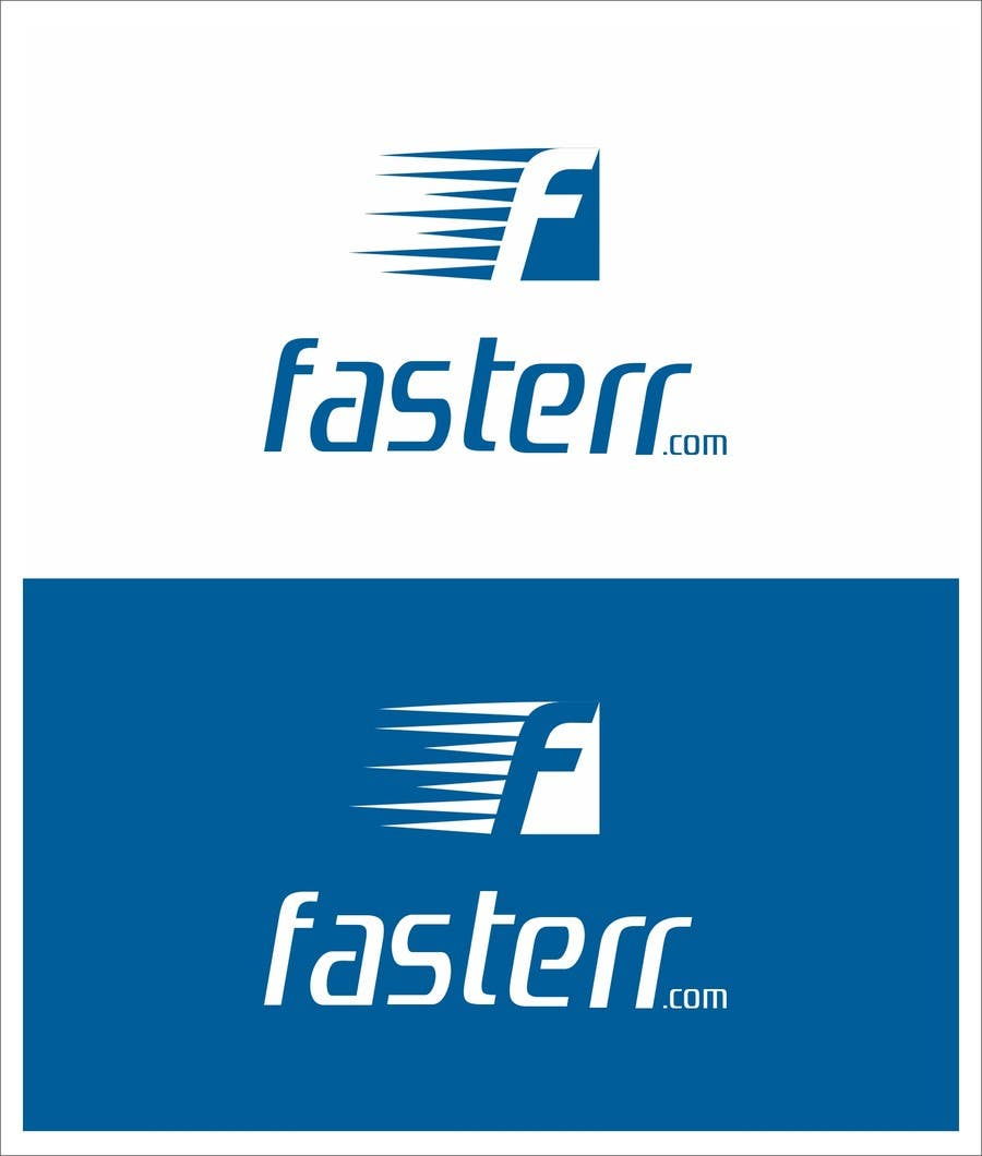 Penyertaan Peraduan #112 untuk Design a Logo for fasterr.com