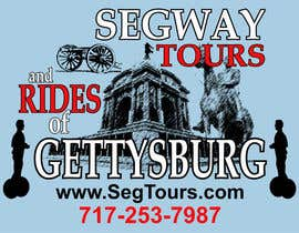 willy5454 tarafından T-shirt Design for Segway Tours of Gettysburg için no 104