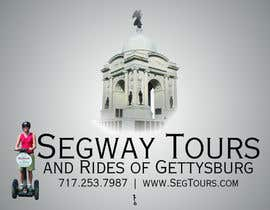 #54 para T-shirt Design for Segway Tours of Gettysburg por alexandrepaulino