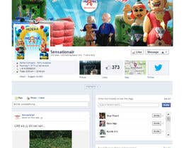#29 for Design a Facebook cover photo and profile picture by RERTHUSI