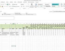 Nro 21 kilpailuun 2 excel documents merging into one käyttäjältä archie456