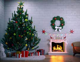 #9 for Create Animated 3D Christmas Scene - Example Provided by Rozairo
