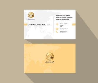 Prodesigns786 tarafından Design of Business Cards and Letterhead for GDM Global (FZC) Ltd için no 31