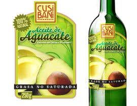 #17 for Etiqueta para botella de aceite de aguacate. by blackfoda