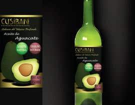 nº 23 pour Etiqueta para botella de aceite de aguacate. par santiagogm