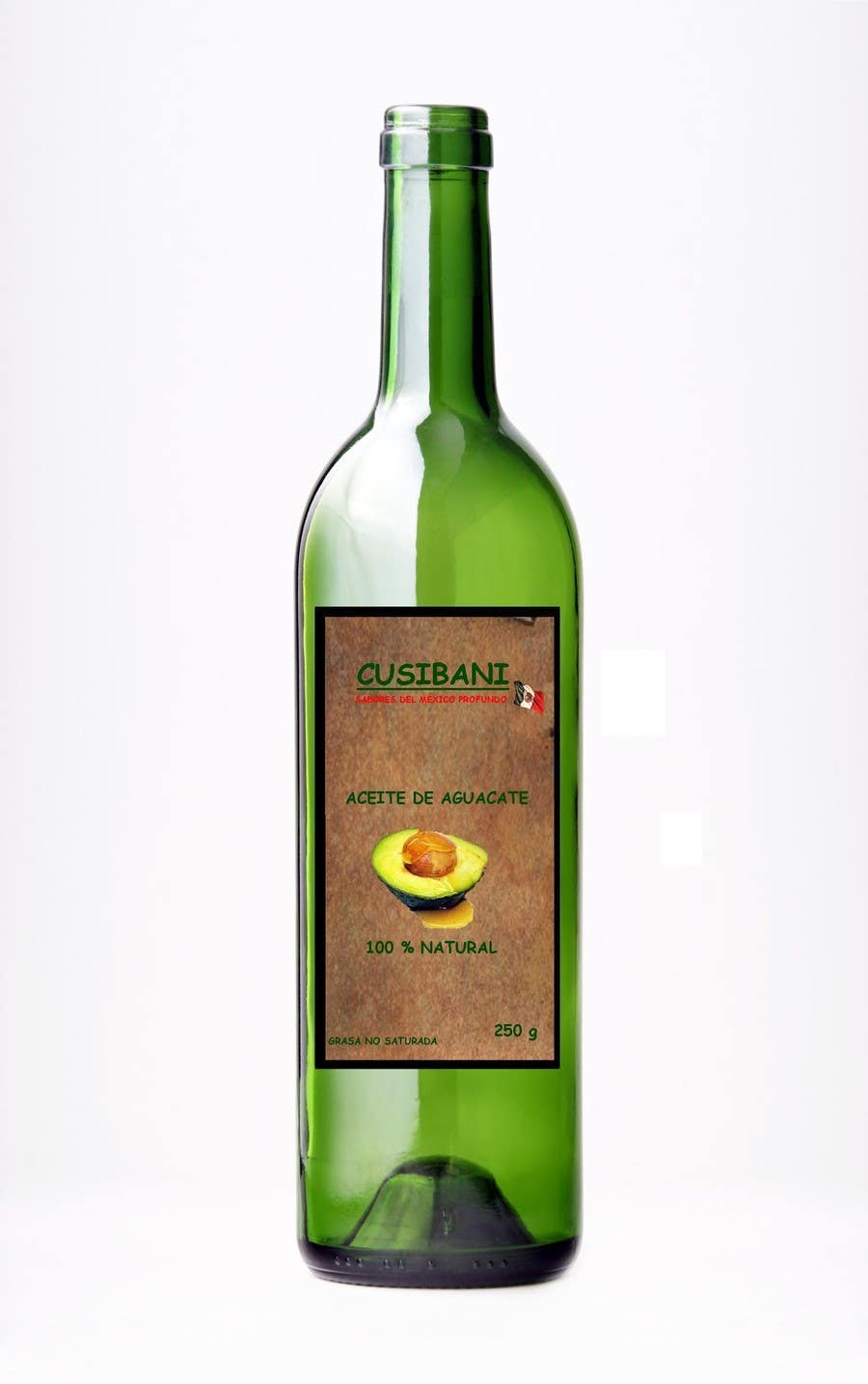 Contest Entry #6 for Etiqueta para botella de aceite de aguacate.
