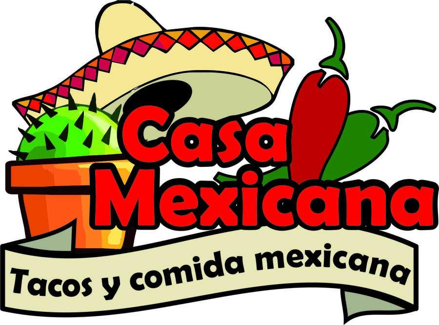Penyertaan Peraduan #15 untuk logo para pequeño restaurante mexicano
