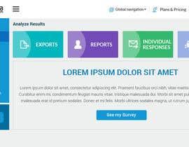 arijit81 tarafından Design a web application layout mockup - only one page - first of many projects için no 2