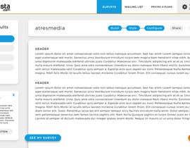 Sofmynd tarafından Design a web application layout mockup - only one page - first of many projects için no 8