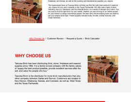 #7 for website for brick by designsvilla