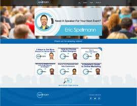 Nro 4 kilpailuun Website design for public speaker käyttäjältä nole1