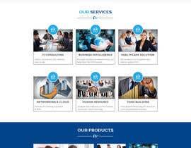 Nro 8 kilpailuun Design modern style Website Mockup käyttäjältä husainmill
