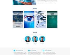 Nro 7 kilpailuun Design modern style Website Mockup käyttäjältä cntgroup