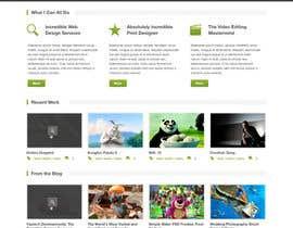 hhsapon tarafından Design a Website Mockup için no 1
