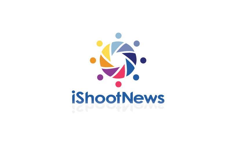 Inscrição nº 340 do Concurso para Logo Design for iShootNews