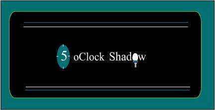 #33 for Design a Logo and banner for 5 Oclock Shadow by YasminIrfan
