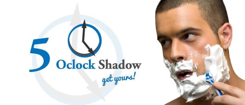 #3 for Design a Logo and banner for 5 Oclock Shadow by manuel0827